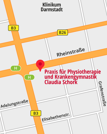 Unsere Praxis bei Google-Maps